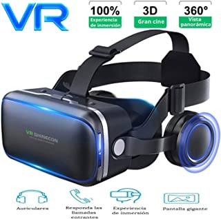 VR Headset with Remote Controls Apply to VR Games and Watch