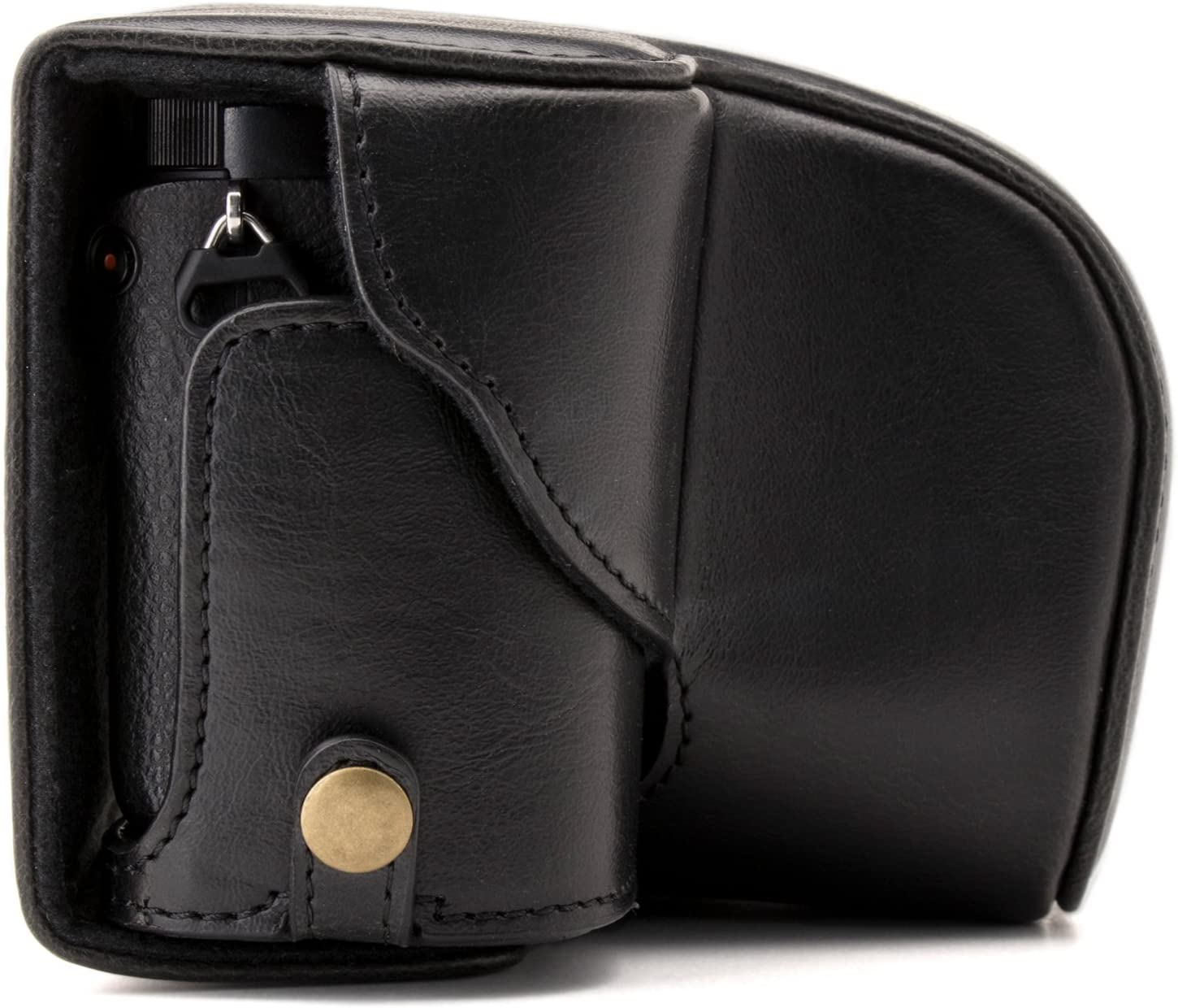 16-50 mm MegaGear Ever Ready Leather Camera Case Compatible with Sony Alpha A6300 A6000