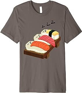 Sleeping Sushi Shirt | Cool Gag Japanese Food Tee Gift