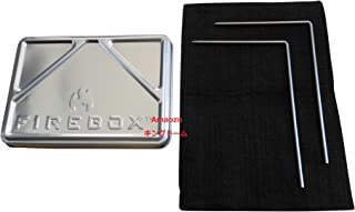 FIREBOX (ファイヤーボックス) X-ケース セット(ケース+カーボンフェルト+L字型ピン2本) ナノストーブ用 GEN2 (ストーブ本体は別売り) 【日本正規品】