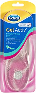 Scholl GelActiv Insoles for Women Everyday Heels Shoe Cushioning and Comfort, Small