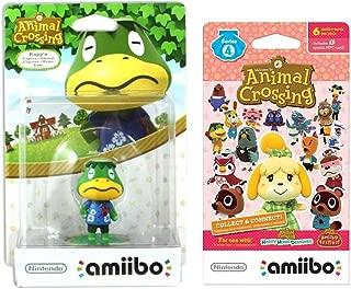 Kapp'n Amiibo (Animal Crossing Series) for Nintendo Switch - WiiU, 3DS Bonus 1-Pack (6 Cards/Pack) (Bundle)