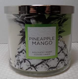 Bath & Body Works 3-Wick Scented Candle in Pineapple Mango
