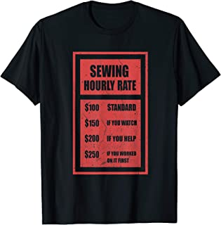 sewing tee shirts