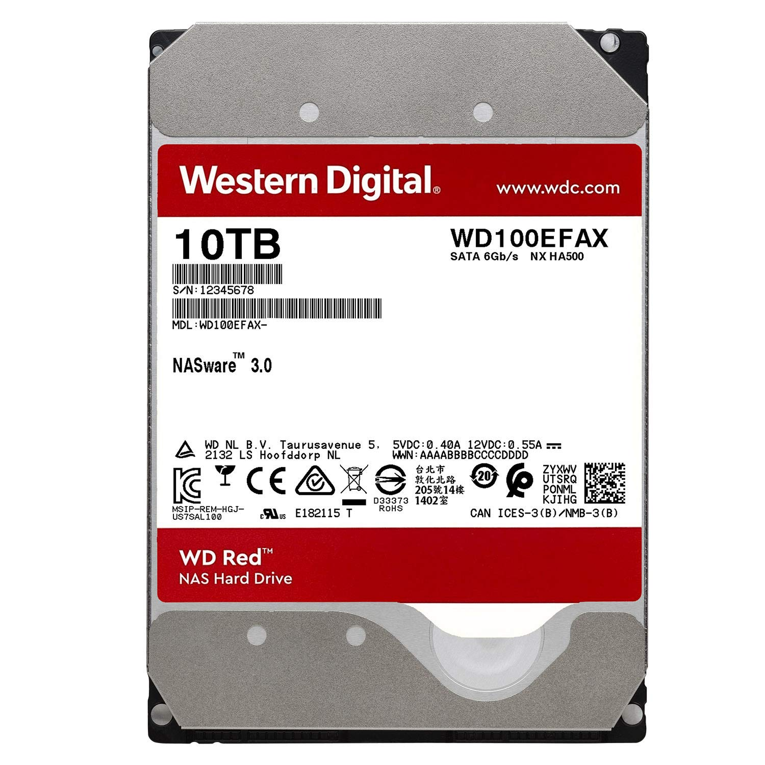 Western Digital Wd101efax Wd Red Plus 3 5 Nas Hard Disk Drive 10tb 5400 Rpm 256mb Cache Amazon Sg Electronics