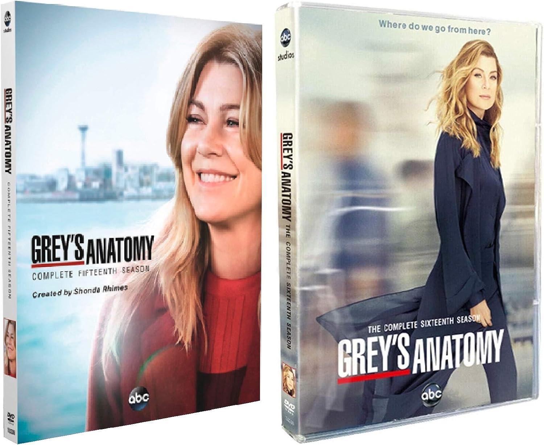 Grey's Ranking TOP6 Anatomy Season 15 16 Bargain sale and DVD