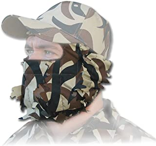 ASAT Camo Vanish Pro 3D Series 3/4 Face Mask Polyester/Nylon Scent Control