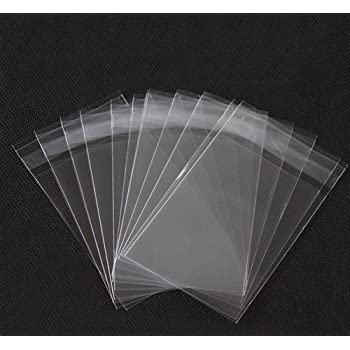 misura 15 x 23 cm Sacchetti trasparenti in cellophane con chiusura adesiva facili da usare miglior regalo per Natale
