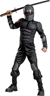 Snake Eyes Classic Muscle Kids Costume Size: 10 - 12