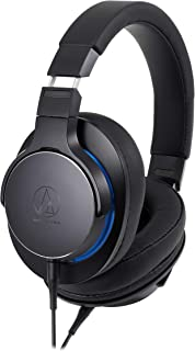 audio-technica SoundReality ポータブルヘッドホン ハイレゾ音源対応 ブラック ATH-MSR7b BK