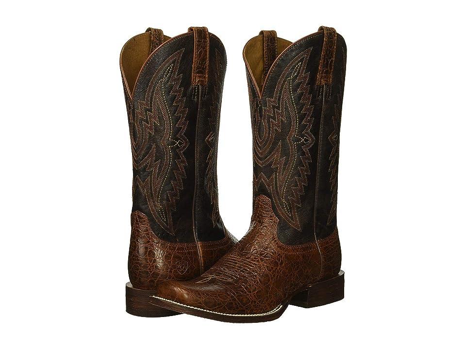 Ariat Circuit Sidepass (Adobe Clay/Gunfire Gray) Cowboy Boots