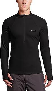 قميص إكسبيديشن رجالي طويل الأكمام بسحّاب 1/2 من كولومبيا