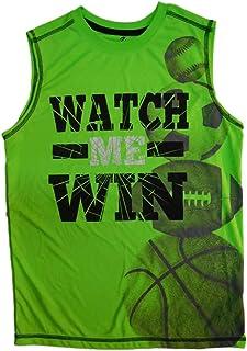 Energy Zone Boys Blue No Pain No Gain Athletic Short Sleeve T-Shirt