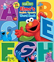 Sesame Street: Elmo's Word Book: An English/Spanish Flap Book (Lift-the-Flap) (Spanish Edition)