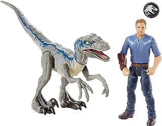 """Jurassic World Story Pack Velociraptor """"Blue"""" & Owen"""