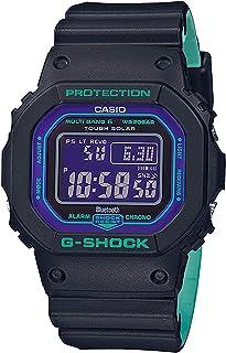ساعة كاسيو جي-شوك بنظام انالوج-رقمي كوارتز اسود من البلاستيك المطاطي GW-B5600BL-1DR