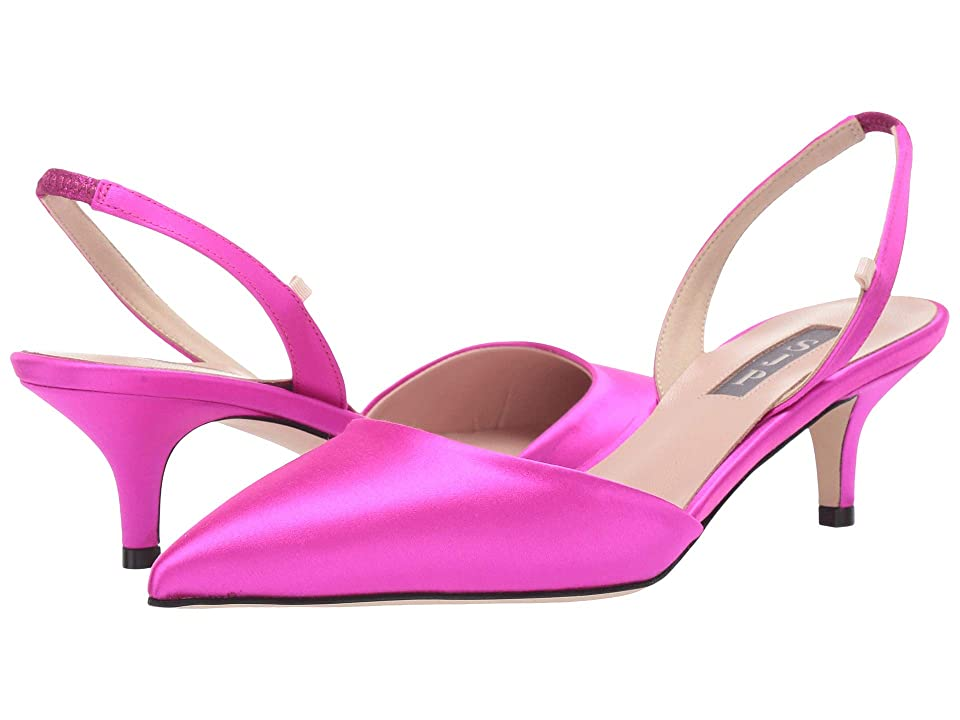 SJP by Sarah Jessica Parker Bliss 50 (Candy Pink Satin) Women
