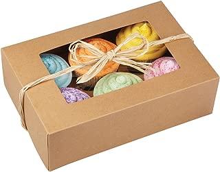 Wilton 415-0740 2/Pack 6-Cavity Cupcake Box, Kraft