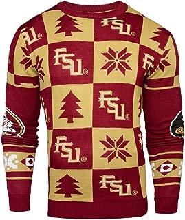 Elite Fan Shop NCAA Men's Christmas Sweater