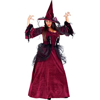 chiber Disfraces Disfraz de Bruja Morgana para Adulto (M - Mediana ...