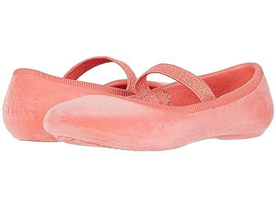 Native Kids Shoes Margot Velvet (Toddler/Little Kid) (Coral Pink) Girls Shoes