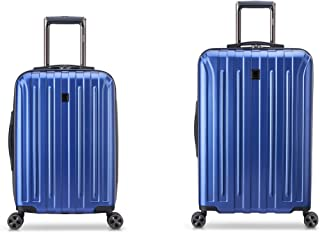 "DELSEY Paris Titanium DLX 2-Piece Spinner Luggage Set (Carry-on & 25"")"