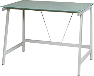 787f673a4536 Amazon.com  Glass - Home Office Desks   Home Office Furniture  Home ...