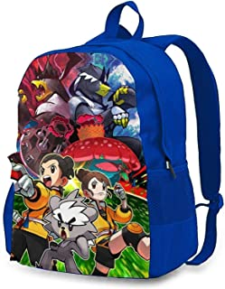 Sponsored Ad - P-oke-mon Backpacks,Classic Plain Weave Oxford Cloth Travel Backpack, Multifunction Backpack,Casual Fashion...