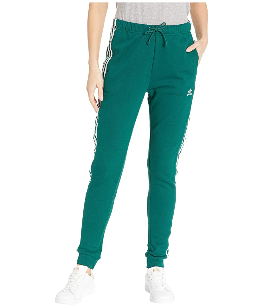 祖母磁石ベーコン[adidas(アディダス)] レディースパンツ?ジャージ?レギンス Regular Cuffed Track Pants Collegiate Green M [並行輸入品]