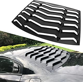 E-cowlboy Rear Window Louver Windshield Sun Shade Cover in GT Lambo Style for 2011-2021 Dodge Charger