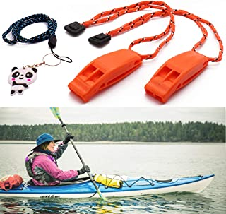 Botepon Marine Boat Whistle Coast Guard Approved Whistle Kayak Whistle Kayak Accessories Life Vest Whistle for Boating, Ka...