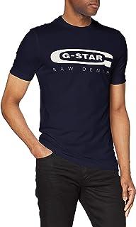 G-STAR RAW Graphic Logo 4 Camiseta para Hombre
