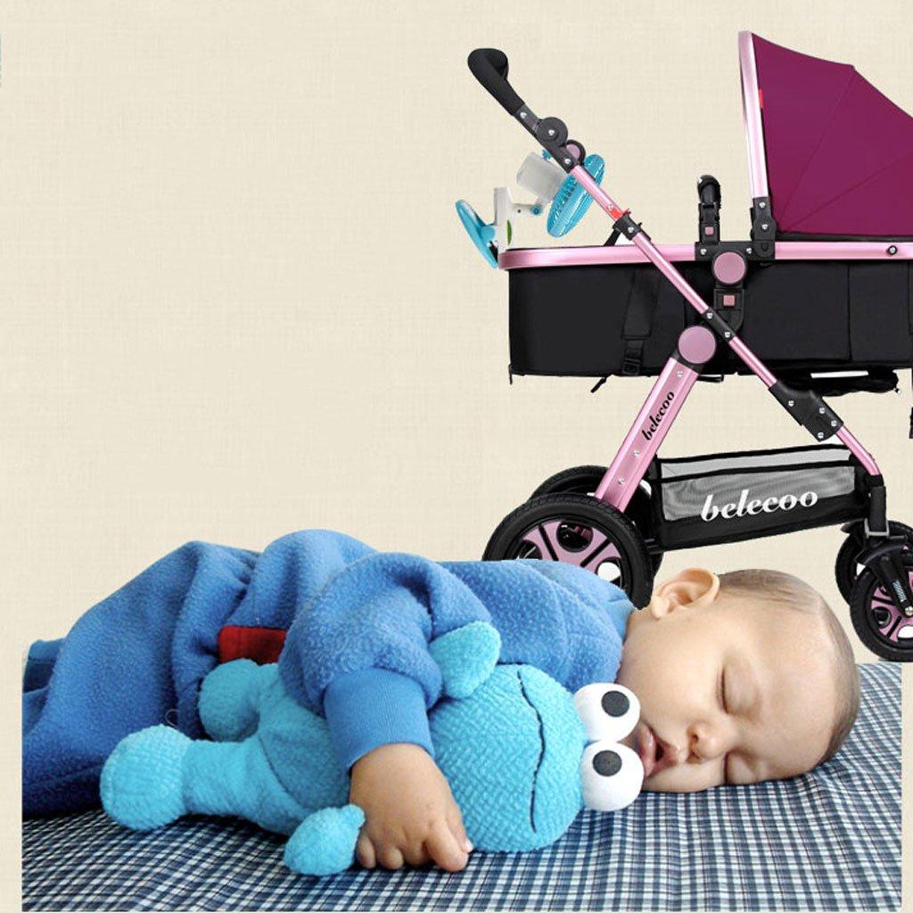 Fan Ventilador USB para niños, mini cochecito de bebé recargable ...
