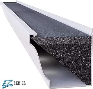 GUTTERSTUFF EZ Gutter Gaurd - 5-Inch K Style Foam Gutter Filter Insert with Year Round Leaf Protection & Easy DIY Installation - 8 x 4' (32-feet)