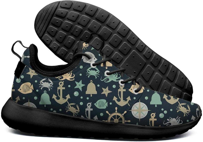 Opr7 Rpink Smiley Daisy Flower Pattern Lightweight Running shoes for Women Sneaker Walking Casual