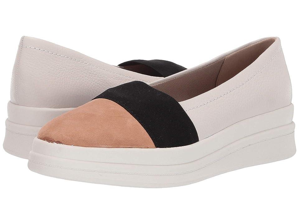Naturalizer Yuri (Alabaster Pebble Leather) Women's Slip on  Shoes