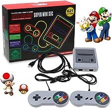 Nintendo Classic Mini Console: Système de divertissement Super Nintendo2018 CONSOLE DE JEUX VIDÉO, SMART HDMI CLASSIC INTÉ...