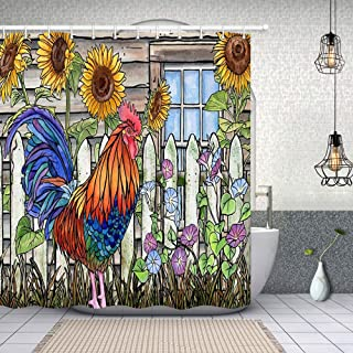 Best chicken print curtains Reviews