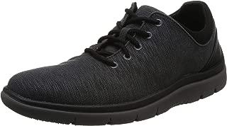Clarks Men's Tunsil Ace Black Sneakers