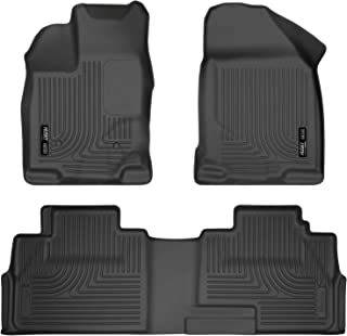 Husky Liners Fits 2007-14 Ford Edge, 2007-15 Lincoln MKX Weatherbeater Front & 2nd Seat Floor Mats