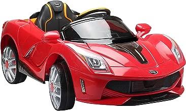 Coche Electrico de Bateria 12V para Niños Infantil Deportivo 130x71x52cm 3-8 Años Musica MP3 (Rojo)