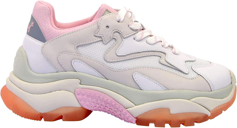 Ash Women's ADDICT02 White Leather Sneakers
