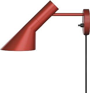 AJ Wall Lamp, Louis Poulsen, Lámpara de Pared Diseñada por Arne Jacobsen (Rojo Óxido)