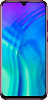 موبايل هونر 20 لايت بشريحتين اتصال - 6.21 بوصة، 128 جيجابايت، RAM4 جيجابايت ، 4G LTE - لون احمر فانتوم
