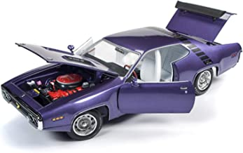 1971 Plymouth Road Runner 440+6 in Violet Looney Tunes Muscle Car & Corvette Nationals (MCACN) Ltd Ed 1,002 pcs 1/18 Diecast Car by Autoworld AMM1182