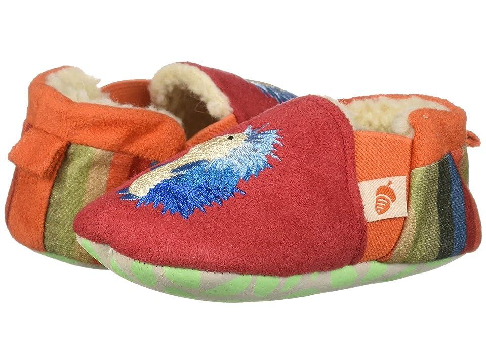 Acorn Kids Easy On Moc Tots (Infant) (Red Hedgehog) Girls Shoes