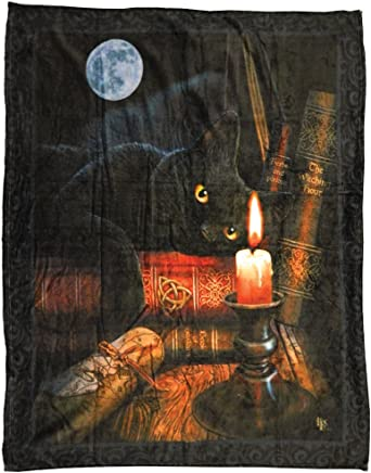 Midsouth Products Lisa Parker Throw Blanket - Cats A Brush With Magic