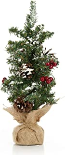 ReLive Christmas Tree with Flocking and Berries 12
