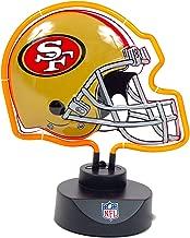San Francisco 49ers Neon Helmet Shape Lamp 12
