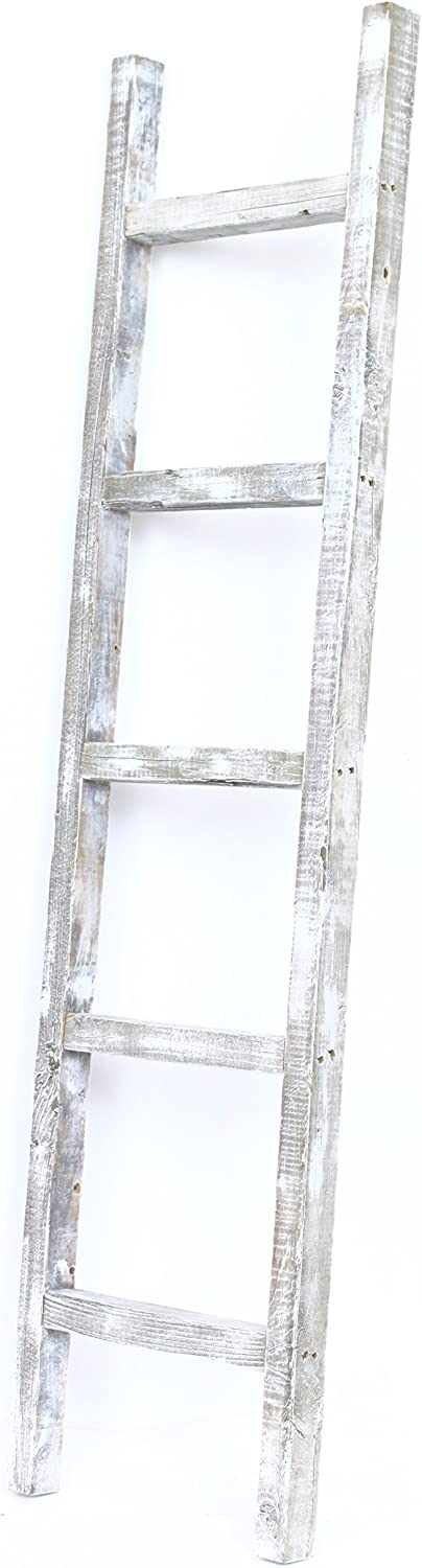 BarnwoodUSA Rustic Farmhouse Max 42% OFF OFFicial store Decorative Ladder 5 ft - Our